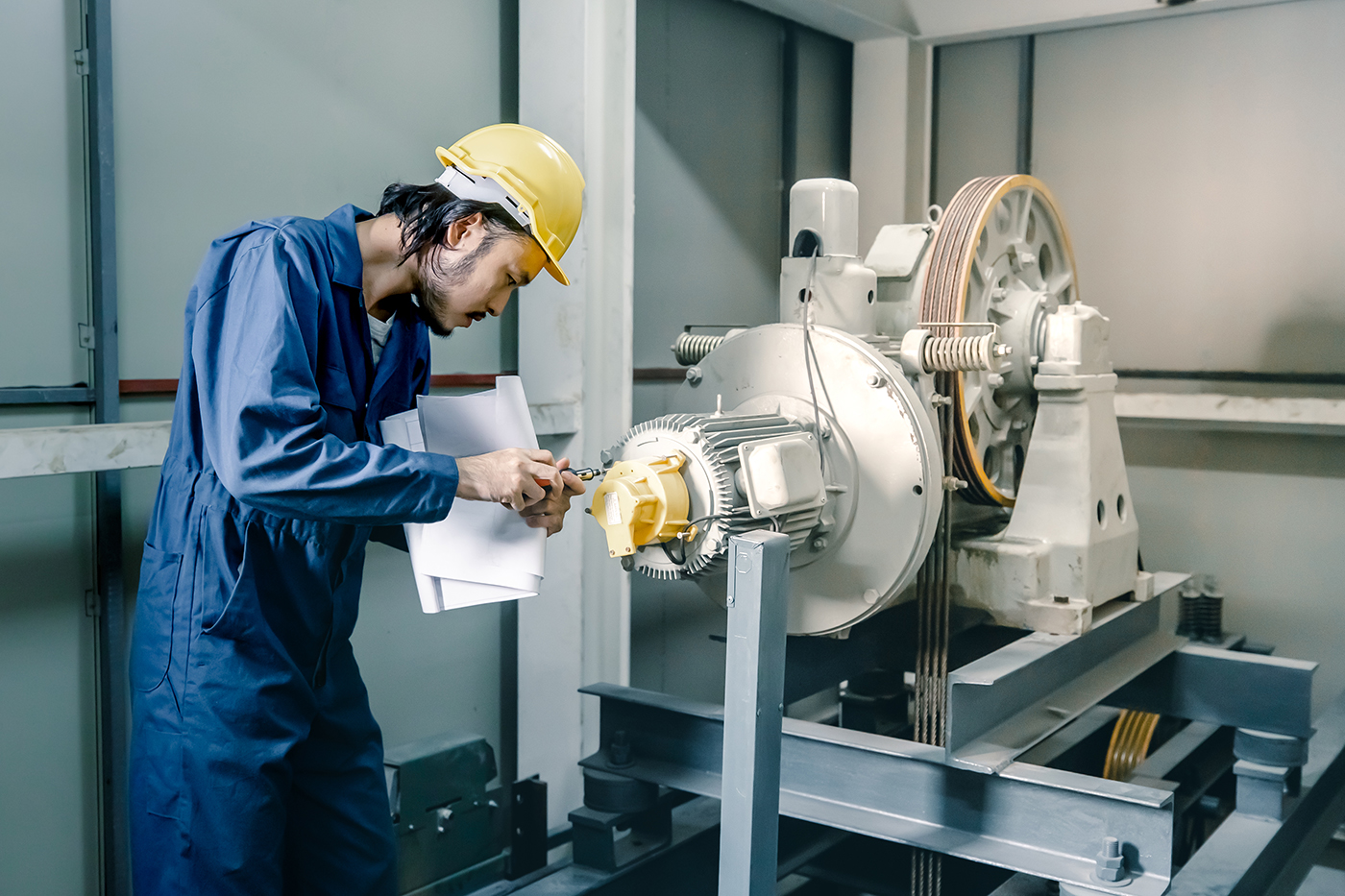 Traduction d'équipements industriels